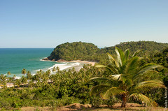 Prainha II (Moikanno Lost*) Tags: sea brazil sky praia beach nature brasil cores mar nikon br natureza paisagem cu bahia tropical ba prainha paisagens coqueiros brasileiras itacar d60 nikond60 nikonnikon duetos thalesmoura paisagensbrasileiras