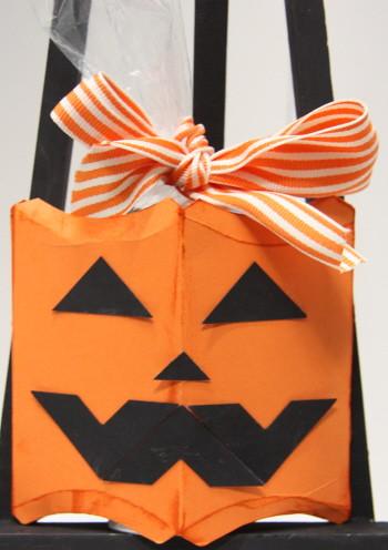 Pumpkin pillox box