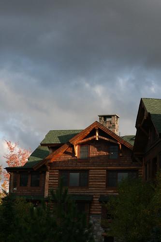 Huge cabin