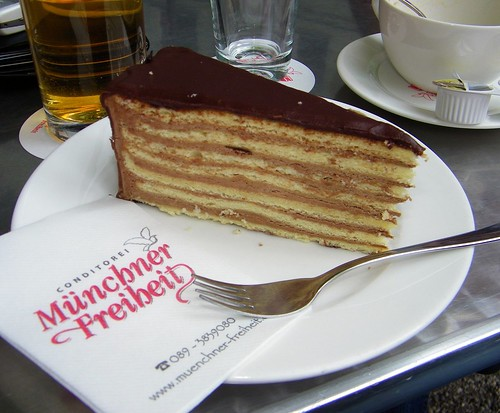 Prinzregententorte c/o Cake Gumshoe Megan