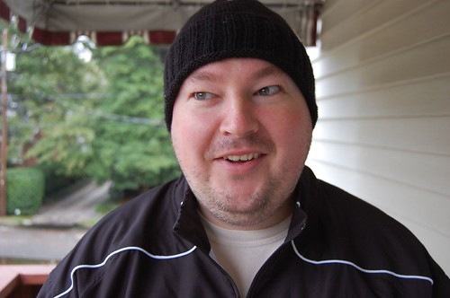 FO: ribbed hat for Josh