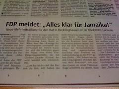 Jamaika in Recklinghausen