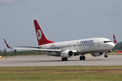 Turkish Airlines - TC-JFK - Boeing 737-8F2
