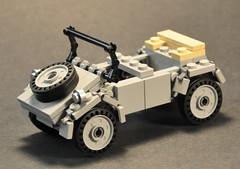 Kbelwagen type 82 (The Ranger of Awesomeness) Tags: lego wwii moc brickarms