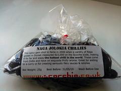 Naga Jolokia Chillies