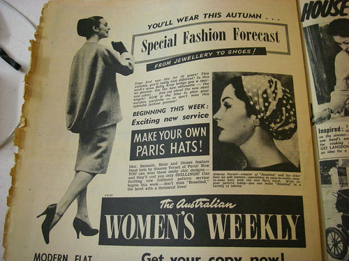 Special Fashion Forecast- 1958