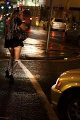 limerick Haloween (Daves shots) Tags: street halloween walking legs stripes iso convict limerick 2500 sidelit carlight lcfe