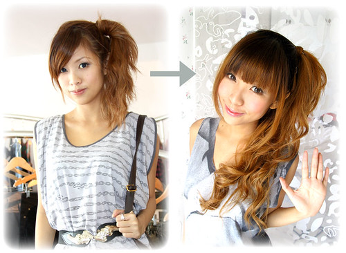 Hair Extensions Before And After Short Hair. This hair tutorial will