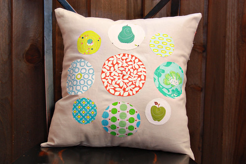 Circles Pillow - Pillow Talk Swap