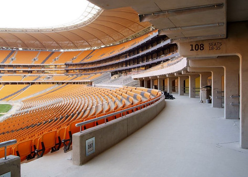 interior estadio FNB Soccer City de Johannesburgo