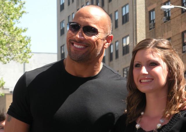 The Rock, Dwayne Johnson, Tribeca Film Festival 2009