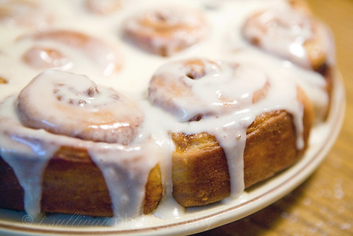 Best ever cinnamin buns from Craving Chronicles