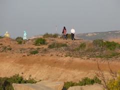 People watching the sea near Tangier, Morocco (fam_nordstrom) Tags: morocco marruecos 2009 tangier tanger marocko