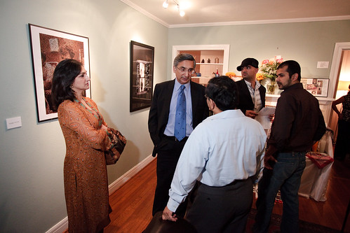Pakistani Consul General and spouse Tahsina