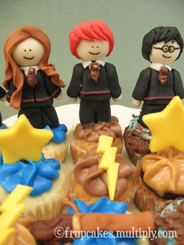 Harry Potter Frupcakes Cupcakes