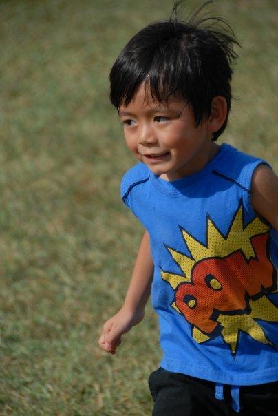 Ethan running
