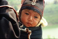 Hilltribe baby, Northern Thailand