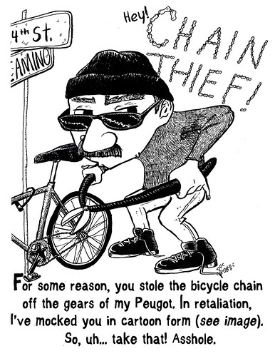 Hey, chain thief!