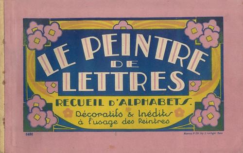 peintre lettres alphabets 2 p0