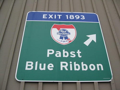 PBR Sign by dougtone