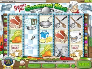 free Jacques Pot Gourmet Slot bonus game