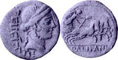 473/3 Quinarius Lollia Felicity Victory biga