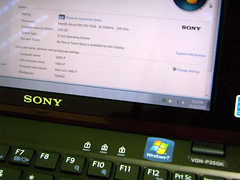The Latest Gadget At The Temple (Miss Loi) Tags: sony p vaio
