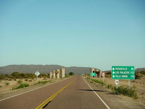 La ruta hacia el Parque