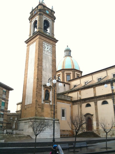 The main cathedral in Caltagirone