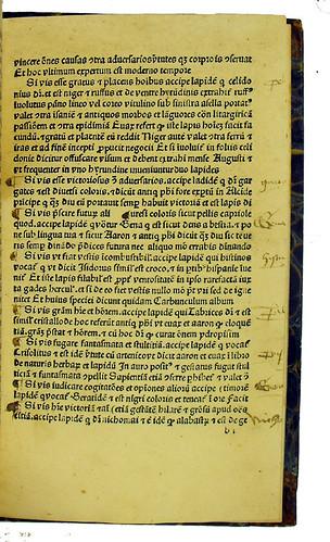 Paragraph marks and Latin marginal annotations in Albertus Magnus [pseudo-]: Liber aggregationis, seu Liber secretorum de virtutibus herbarum, lapidum et animalium quorundam