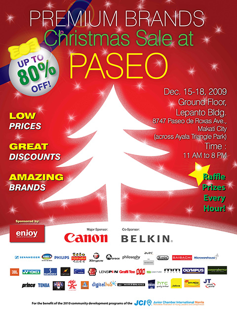 Premium Brands Christmas Sale at Paseo PDF