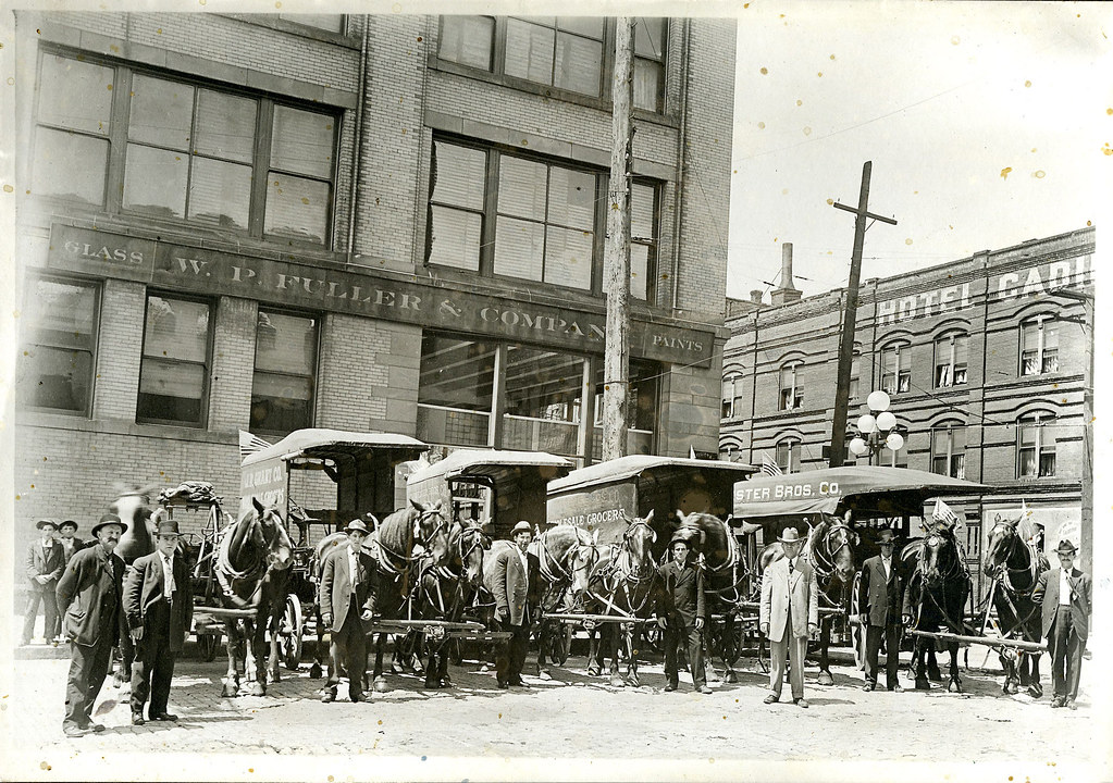 Grocery wagons in Seattle, Washington. c by crackdog, on Flickr