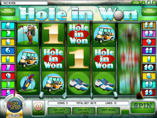 Hole in Won slot game online review