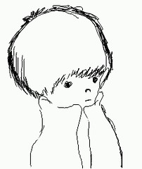 Principito????? / Little prince????? (Urboros) Tags: boy childhood pencil interesting drawing lapiz cellphone cell prince principito celular draw dibujo nio niez interesante celu dibujando telefonocelular