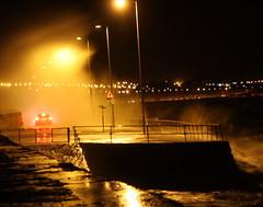 Carwash (warpig corp) Tags: sea waves crash wave carwash promenade brake hightide crashing brakelights colwynbay northwales highseas northwalescoast crashingwave carbrakelights colwynbaypromenade