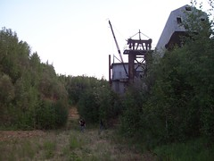 F.E. Company Dredge #6 (outnaboutnak) Tags: alaska mining fairbanks dredge bucketline