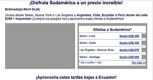 Ecuador-Air-Fare