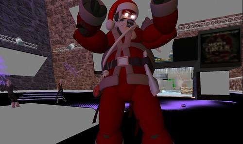 santa claus at dance island