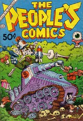 The People's Comics (micky the pixel) Tags: comics comic tank robertcrumb panzer undergroundcomics thepeoplescomics