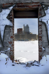 Industrial plant, Gowanus, Brooklyn, New York (jackie weisberg) Tags: door city nyc newyorkcity winter urban plants usa snow ny newyork brick water vertical architecture brooklyn america port graffiti canal industrial unitedstates snowy unitedstatesofamerica bricks cities dump architectural neighborhood doorway photograph sewage gowanuscanal newyorkstate graffito gowanus wintertime shipping northeast redhook barge neighborhoods nys barges industrialplant contaminated thebigapple 718 kingscounty industrialdistrict jackieweisberg