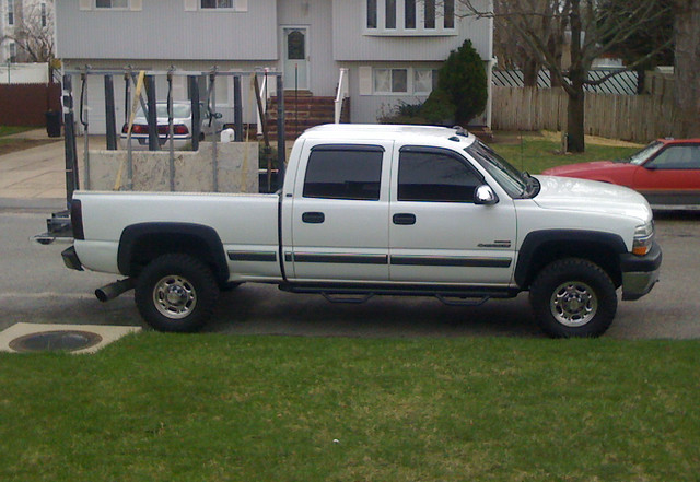 white apple chevy granite marble silverado iphone 2500hd mickeythompson mbrp duramaxdiesel silverado2500hd