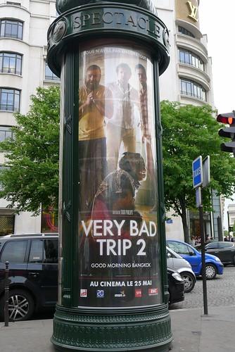 Favorite Billboard in Paris - The Hangover 2