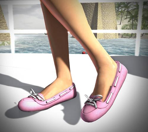 *BOOM* Deck Shoes/canvas - Cotton Candy