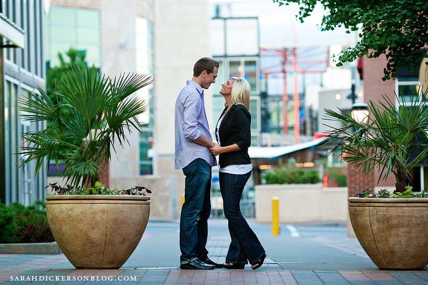 Kansas City Power and Light engagement session