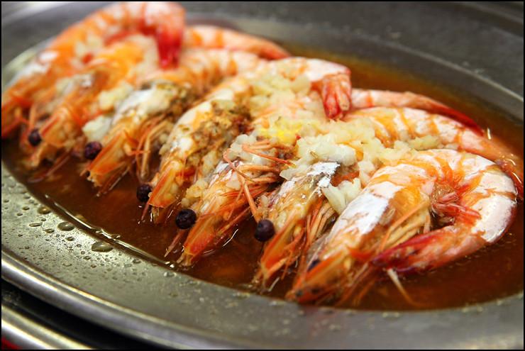 steamed-prawns