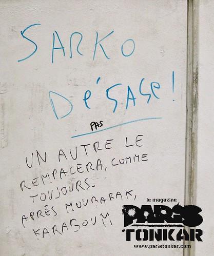 Sarko dégage by Pegasus & Co