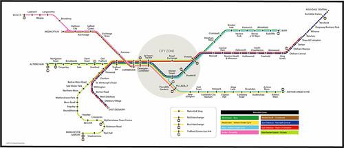 Metrolink 2030 | The current Metrolink line map but with all… | Flickr
