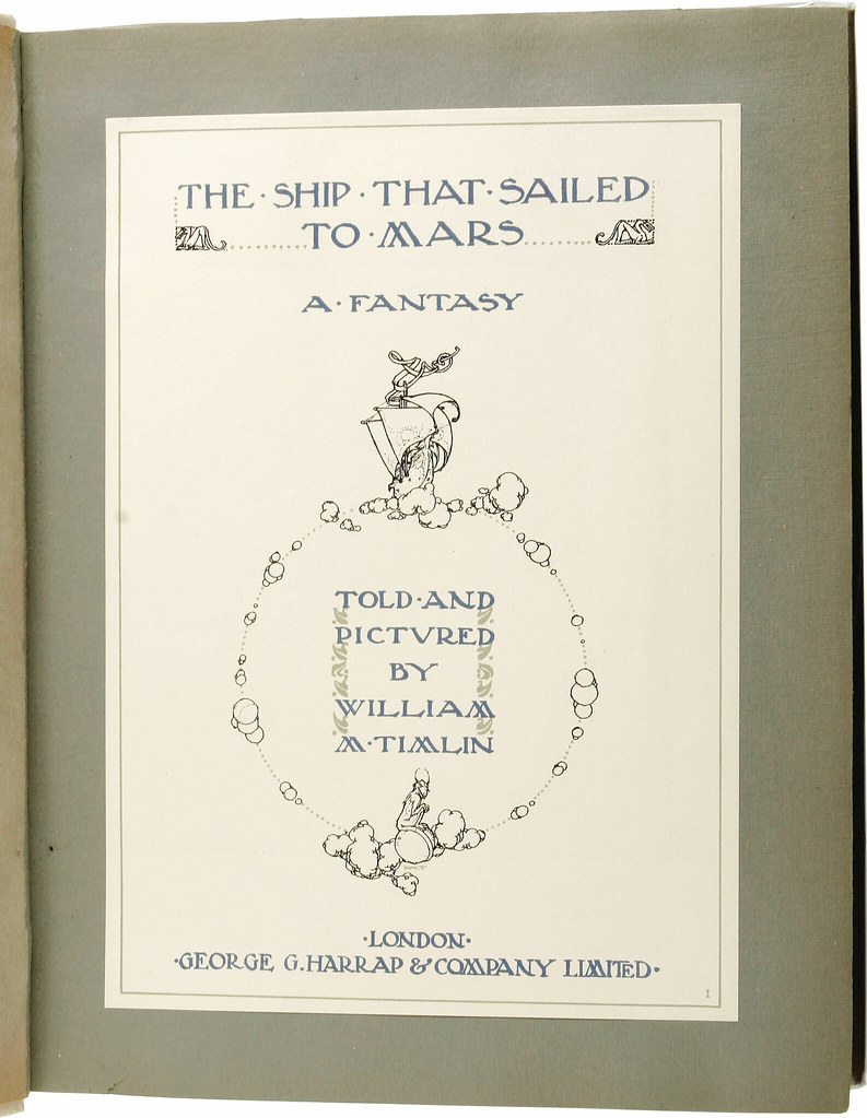 William Timlin - The Ship That Sailed To Mars, ntroduction (1923)