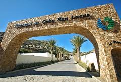 Pedregal de Cabo San Lucas (Serge Freeman) Tags: road architecture mexico arch cabosanlucas