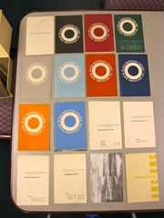 black mountain college catalogs, 1933-1955 (davidsilver) Tags: bmc uncasheville blackmountaincollege ramseylibrary